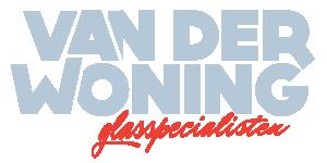 van der Woning Glas Logo